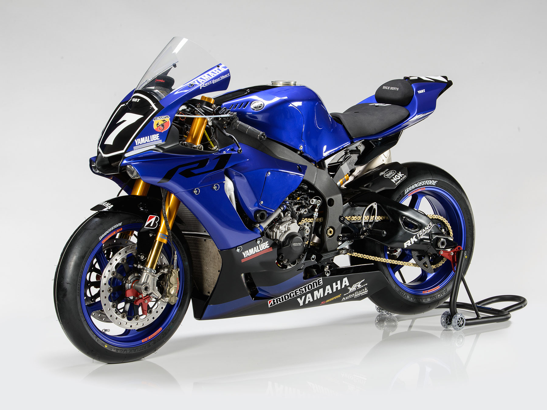 Bike yamaha yzf r1 yart for Yamaha racing team