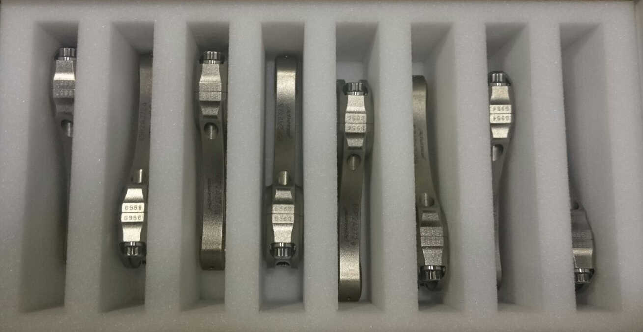 Pankl Engine Systems Titanium Factory Conrods RN32 R1