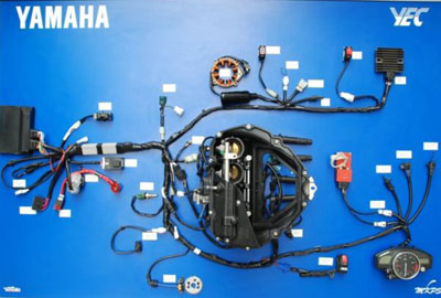 yec r6 harness yamaha outboard main harness wiring diagram the wiring diagram 2008 Yamaha R6 at gsmx.co