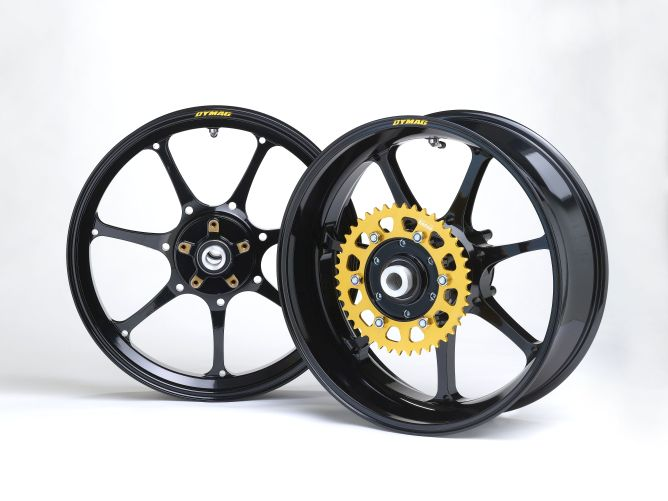 Dymag up7x forged aluminium wheelset yzf r1 rn32 yart for Yamaha r1 deals