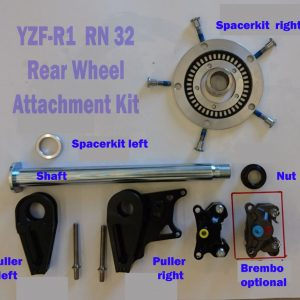 WSBK Rear Wheel attachment Kit