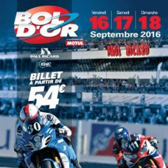 24 Hours Bol d'Or Circuit Paul Ricard 2016/2017