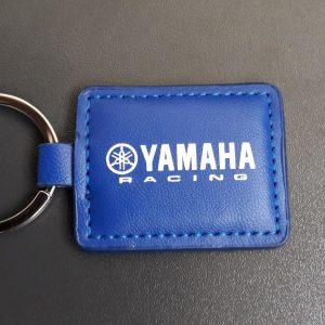 PU Key Ring Yamaha blue