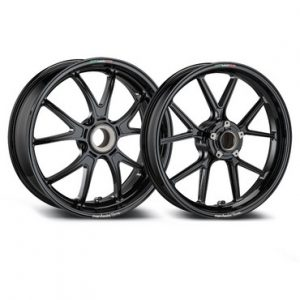 Marchesini M10RS 10 Spoke Forged Magnesium Wheels black Yamaha R1 2015-