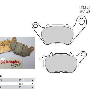 Brembo 107A48606 Pads Kit Z04 YZF-R3