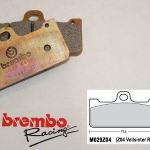 Brembo Racing-BRAKEPAD Z04 M029Z04