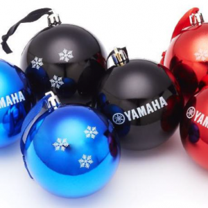Yamaha Christbaumkugeln – Christmas baubles