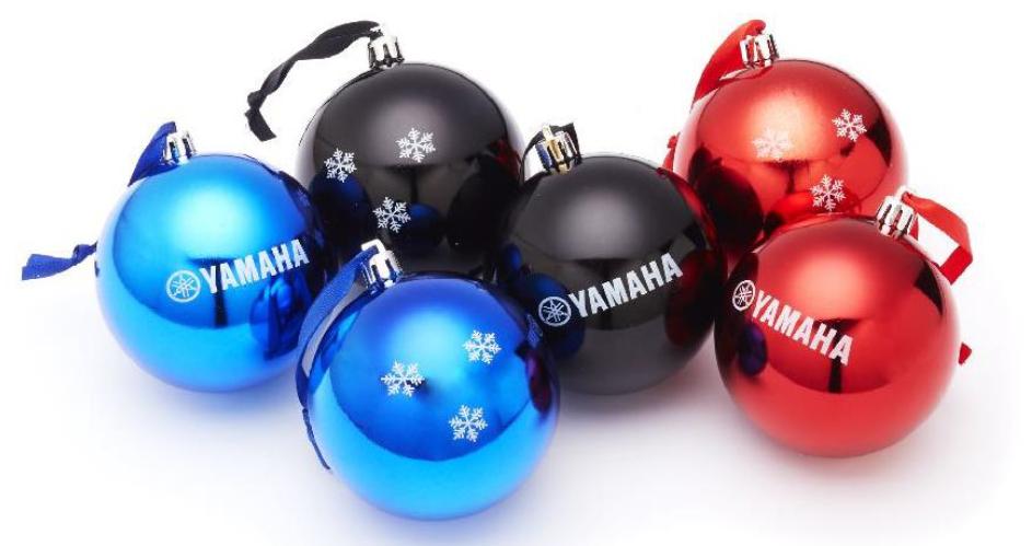 Christbaumkugeln At.Yamaha Christbaumkugeln Christmas Baubles