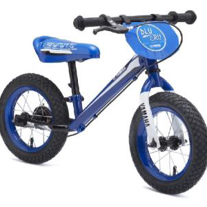 Kids balance bike metal blue