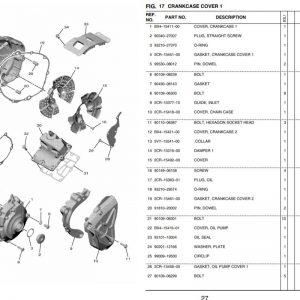 YZF-R1 2020- Crankcase Covers OEM Parts