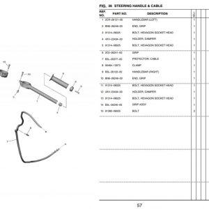 YZF-R1 2020- Handlebar Group OEM Parts