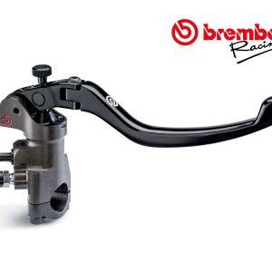 Radial Brake Master Cylinder Brembo 19×18 CNC Billet with Fold-Up Lever XR01171